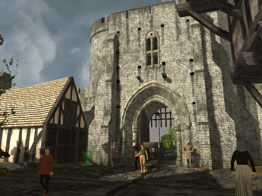 Knightsbury... The southern citygate.